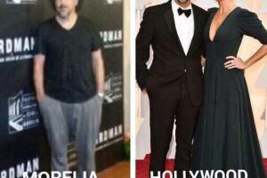 Alejandro González Iñárritu no se salvó al comparar los outfits que usa en distintos eventos de cine.