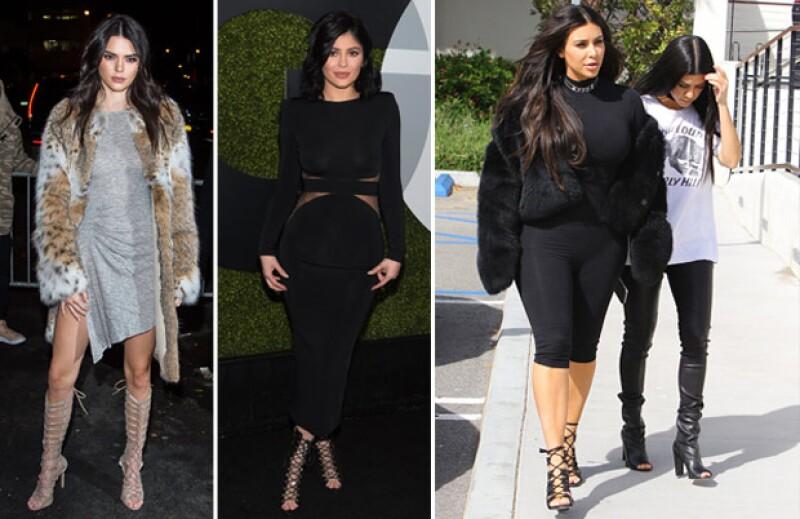 También pueden hacer combinaciones de estas tendencias, como pencil skirt con tacones acordonados.