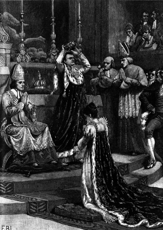 Crowning Napoleon