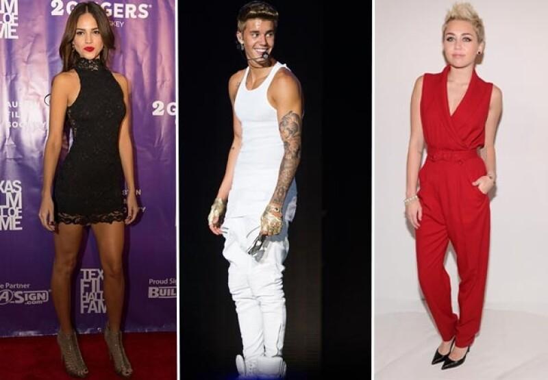 Eiza, Justin Bieber y Miley Cyrus son estrellas jóvenes que nos encantaría ver en la aplicación.