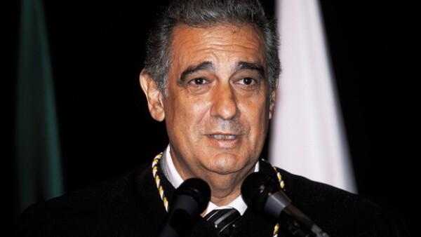 Plácido Domingo en 2001.
