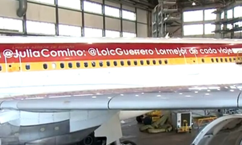 @LoicGuerrero Lo mejor de cada viaje es compartirlo contigo, dice el mensaje. (Foto: Iberia.com)