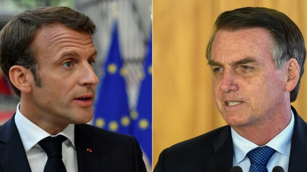 COMBO-BRAZIL-FRANCE-BOLSONARO-MACRON-FIRE-AMAZON