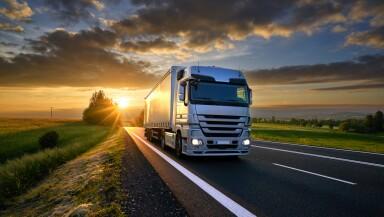 camion carretera trailer