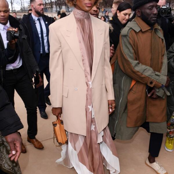 Louis Vuitton show, Arrivals, Fall Winter 2019, Paris Fashion Week Men's, France - 17 Jan 2019