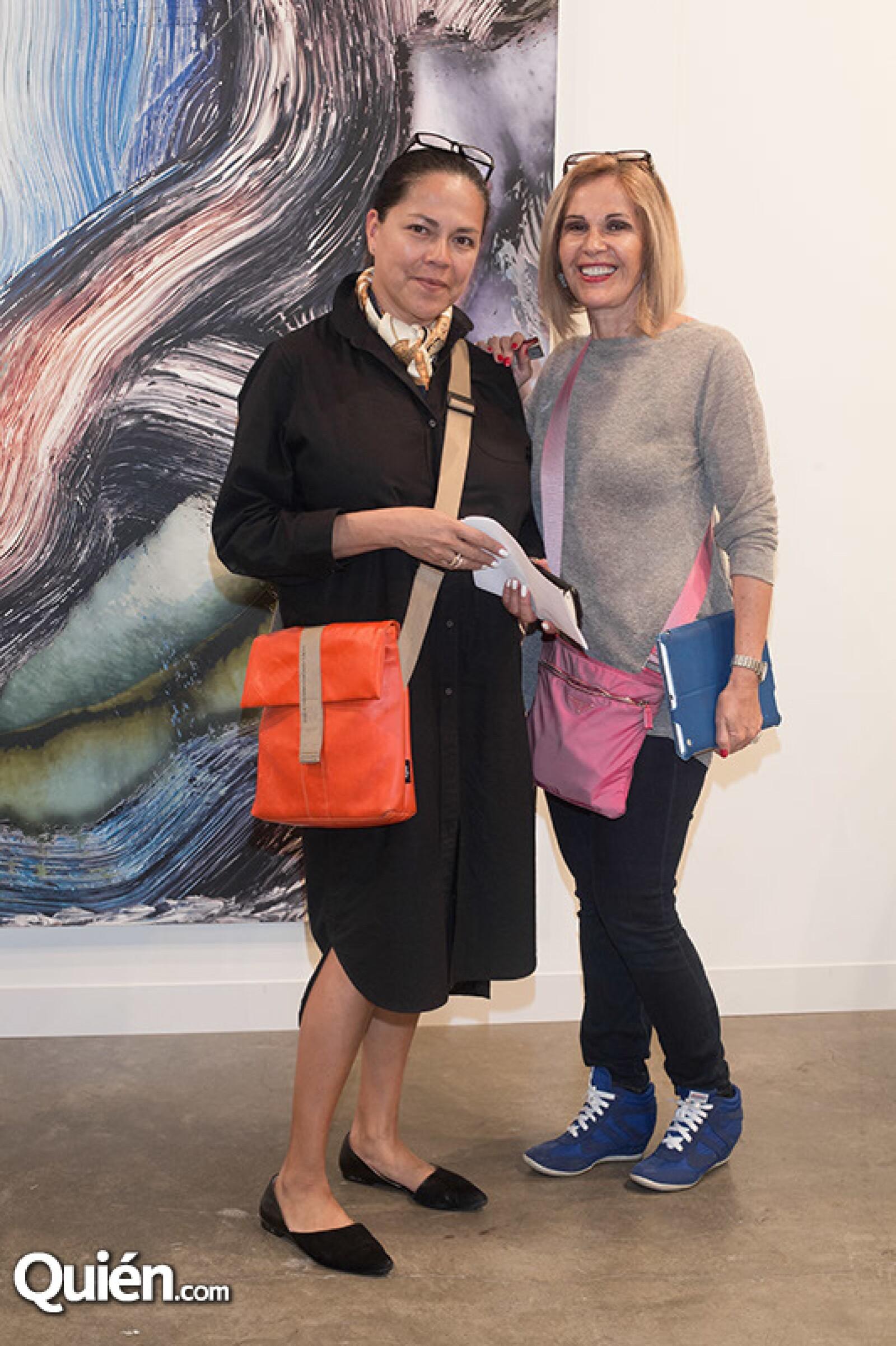 Mayra Nakatani y Ercilia Gómez Maqueo