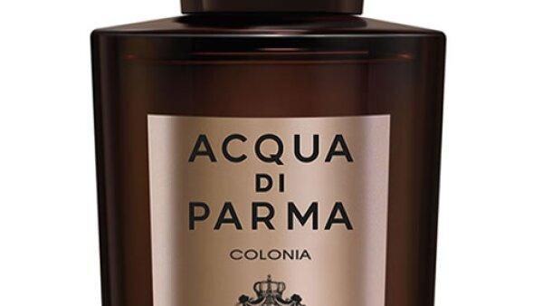 La nueva fragancia de Acqua Di Parma, Colonia Leather, con notas cítricas y de madera.