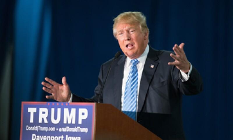 El candidato ha realizado críticas a los musulmanes y aseguró que busca cerrar el paso a Estados Unidos. (Foto: Getty Images)