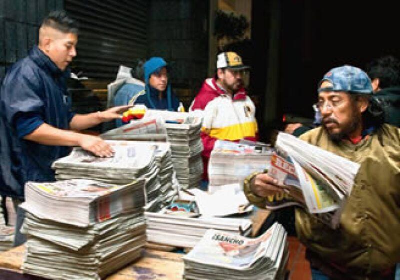 El IFE destinará en el 2011 más de 3,000 mdp a los partidos políticos registrados para su publicidad; el 10% será utilizado en medios escritos. (Foto: Alejandro Hernández )