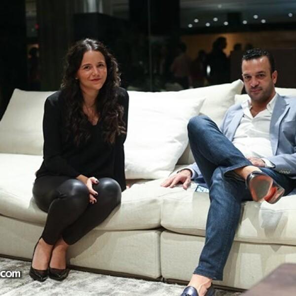 Isabela y Mohamed Bader