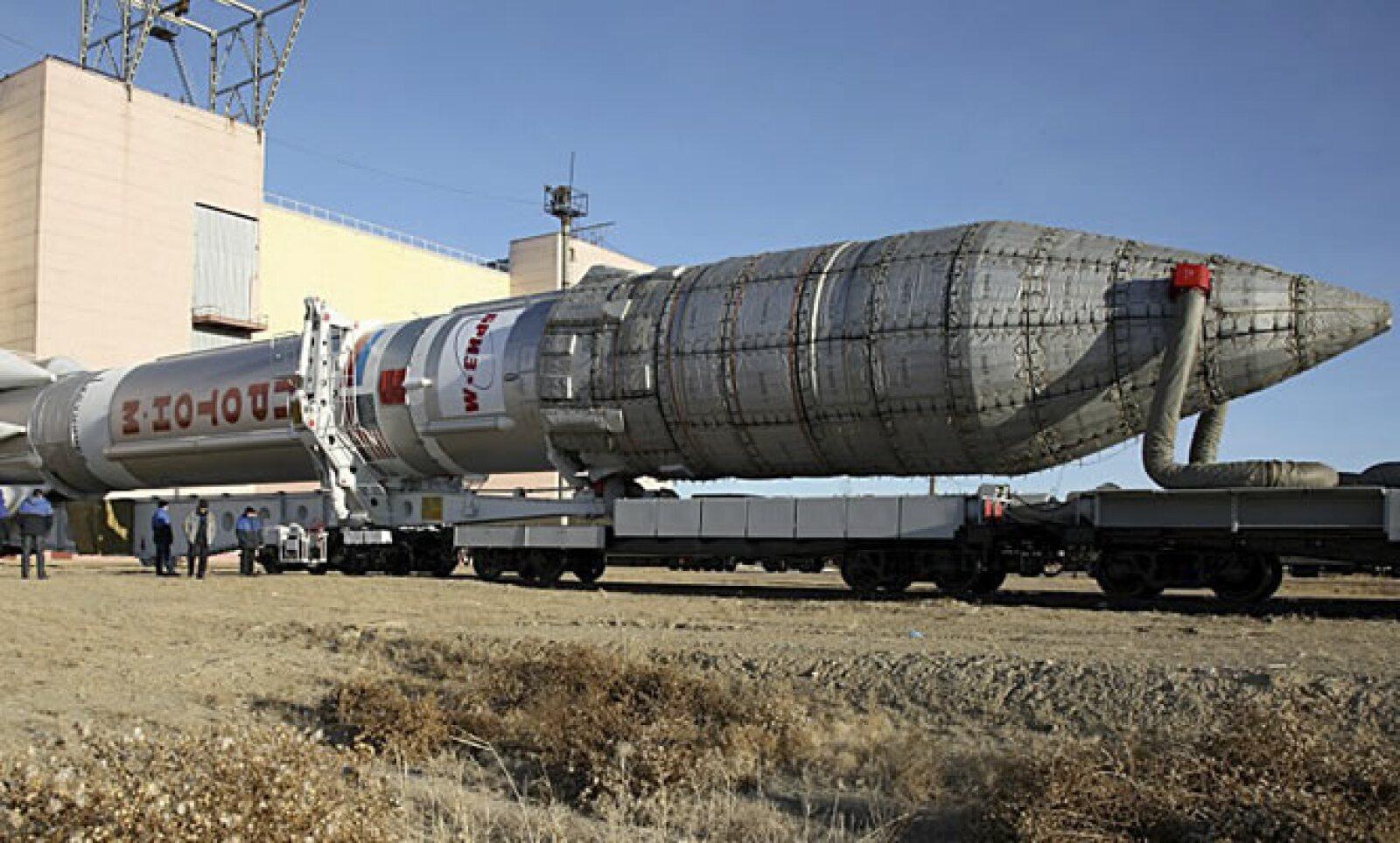 El satélite estaba almacenado desde noviembre de 2013, lo que le costó al Gobierno mexicano más de 5,300 mdd por gastos en controles de limpieza, temperatura y seguridad.