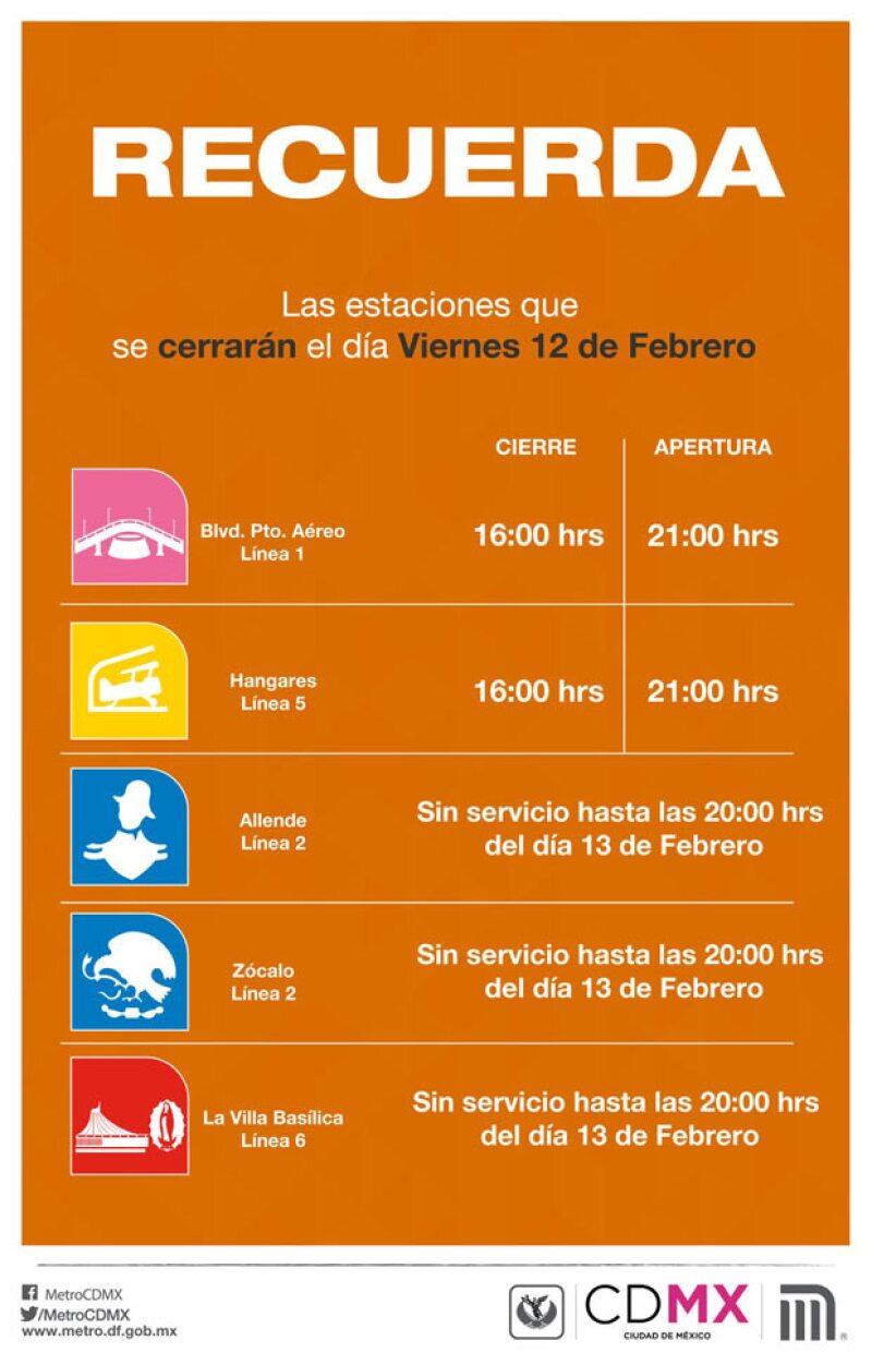 El Papa Francisco llegará a la Ciudad de México el viernes 12 de febrero, por este motivo diferentes vialidades se verán afectadas. ¿Sabes cuáles son?