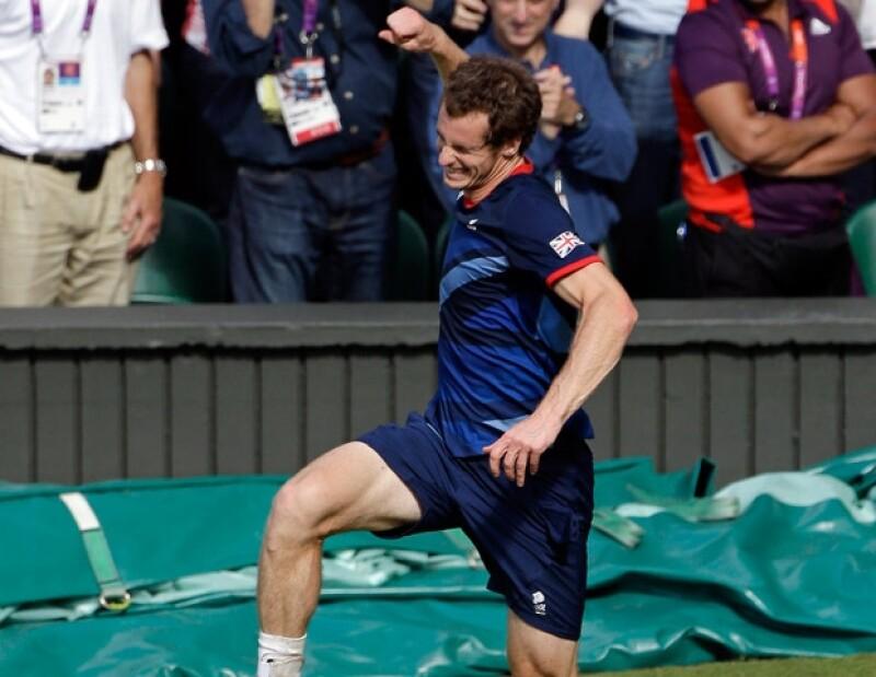 El tenista venció a Roger Federer y ganó la medalla de oro en los Juegos Olímpicos Londres 2012. Para el británico, ésta es la victoria más importante de su vida.