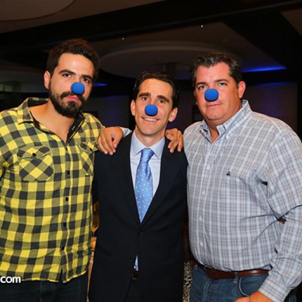 Rodrigo Aroca,Gerardo Gaya y Federico Asuar