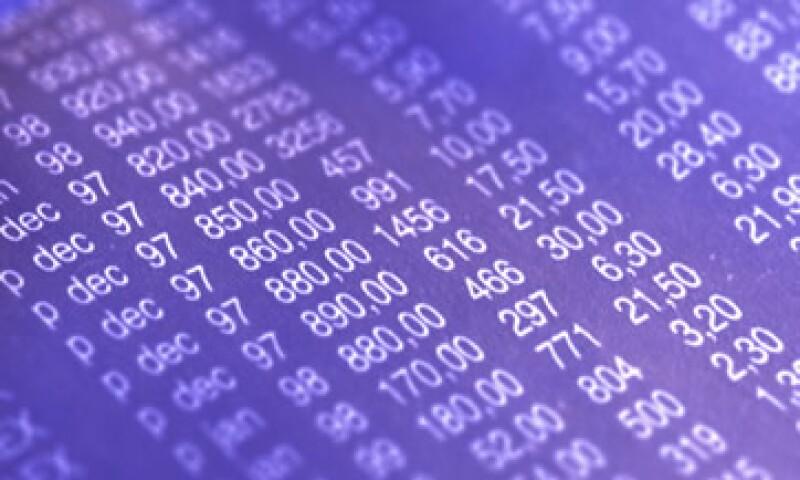 El principal índice de la BMV cayó más de 2% el viernes pasado tras el error, pero el cierre oficial quedó en -0.56%. (Foto: Thinkstock)