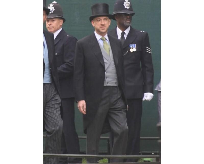 Se dice que Gary Goldsmith es el tío incómodo de la duquesa.