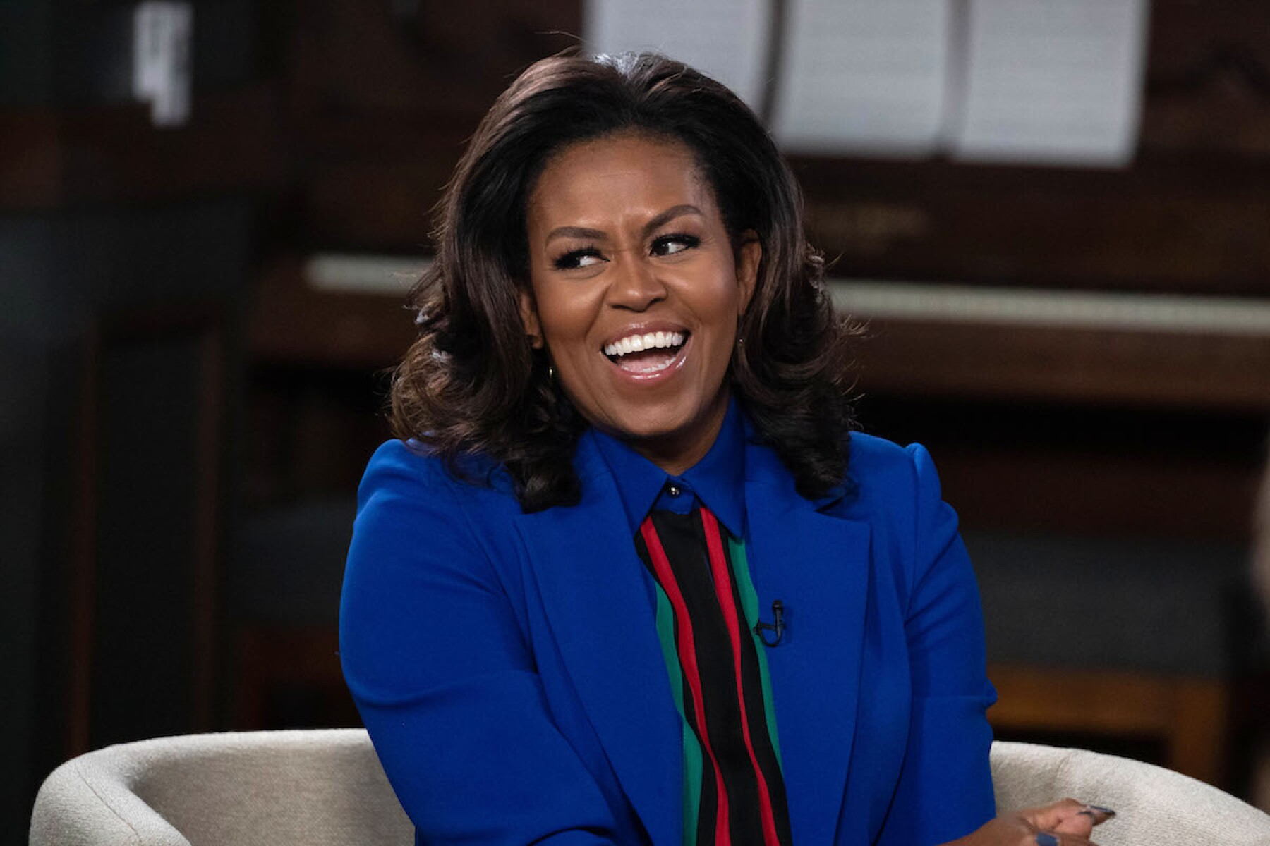 Michelle Obama 'Becoming' book discussion, Austin, USA - 28 Feb 2019