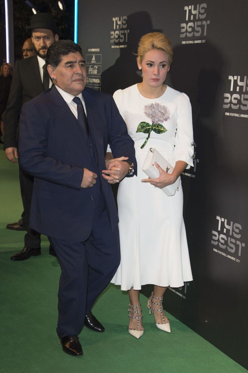 Maradona regalo Rocío Oliva