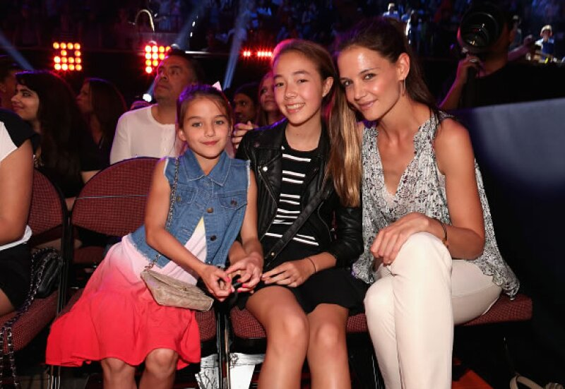 La actriz y su hija en los Nickelodeon`s Kids` Choice Awards.