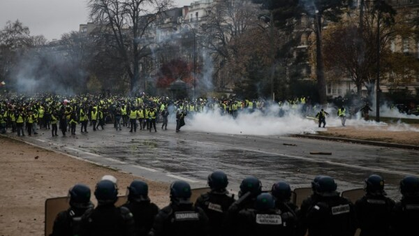 Francia disturbios Acuerdo de Paris