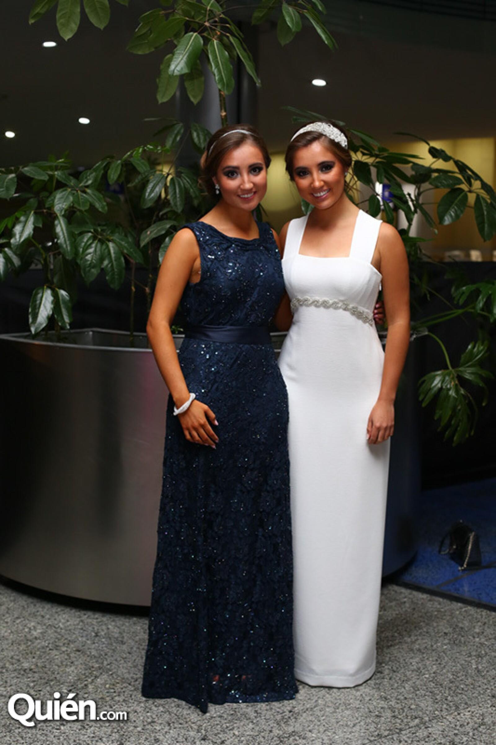 Paola Castellanos y Jimena Castellanos