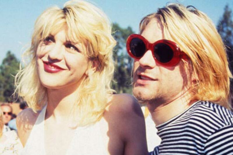 Courtney Love fue el gran amor de Kurt Cobain.