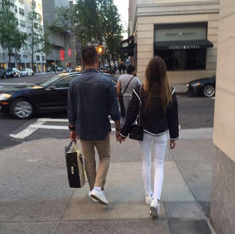 Miguel Mier y Olivia Peralta.
