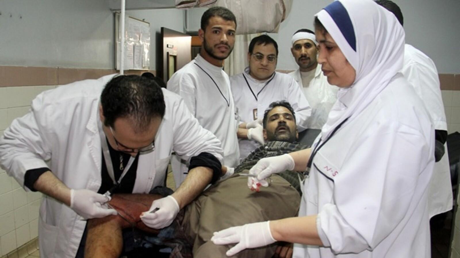 Mujeres en protesta egipcia