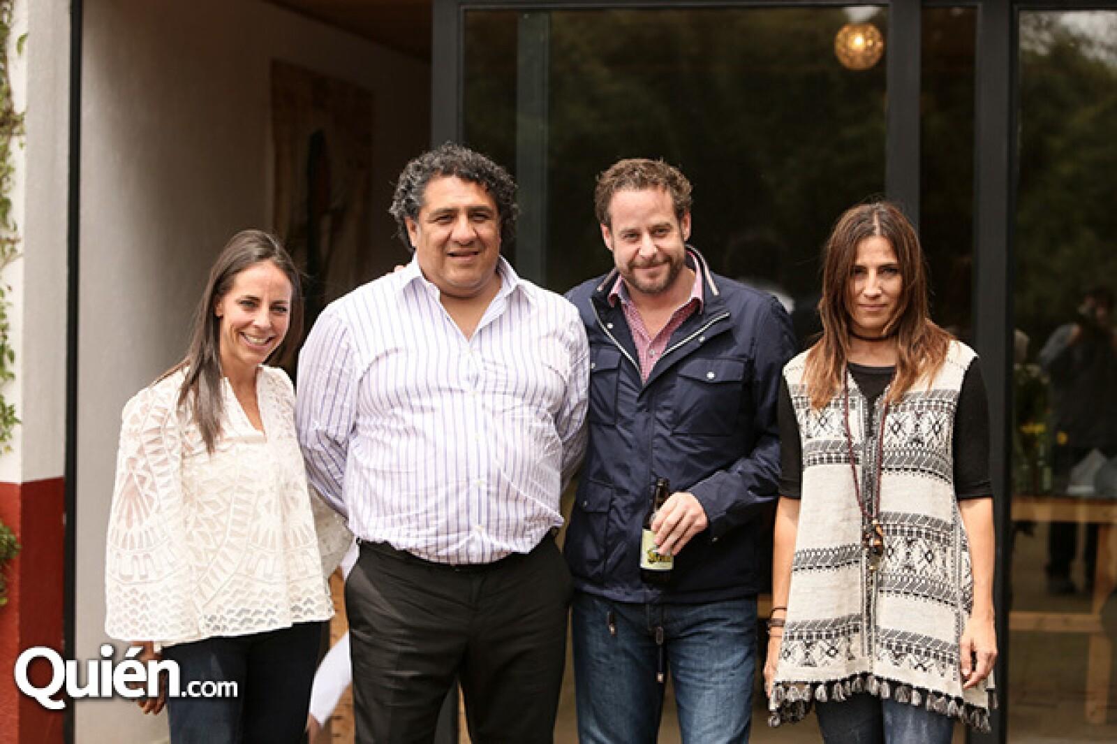 Sylvia Rivera Jauregui, Luis Lozada, Patricio Roel y Dinorah Climent