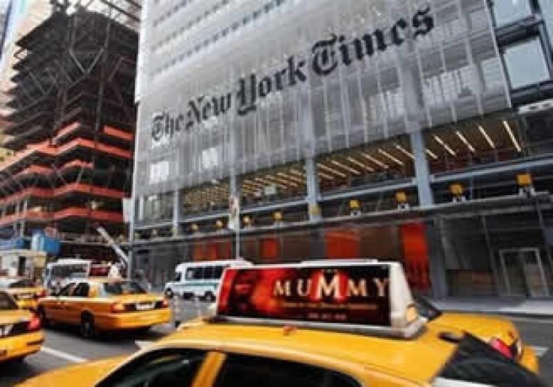 El diario intentó en 1996 cobrar por el acceso a sus páginas en línea. (Foto: Reuters)