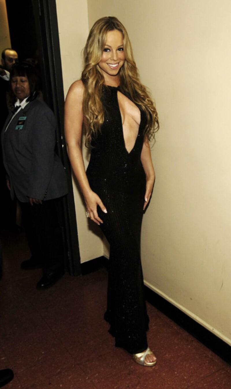 Mariah Carey, año 2005.