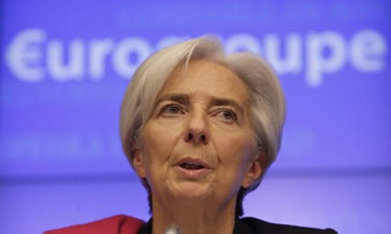 Lagarde recomendará la medida para ayudar a Grecia en la restauración de su competitividad y la adopción de reformas estructurales. (Foto: AP)
