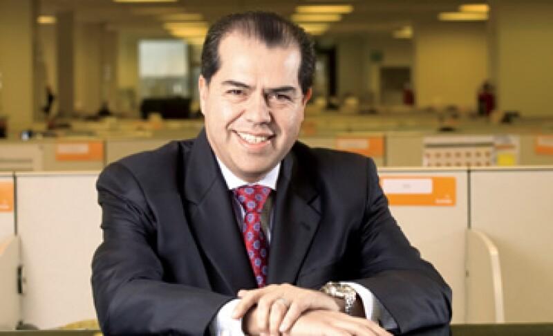 """""""Las TI son parte central de un negocio, ayudan a tener más clientes, reducir costos y ganar mercado"""", dice Carlos Funes, director general de Softek. (Foto: Adán Gutiérrez)"""
