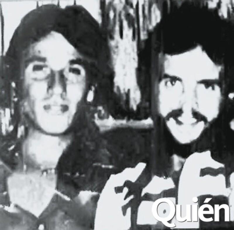 Rafa Villafaña y su amigo Lalo Césarman a finales de los 70, una de las mejores épocas del antro acapulqueño.