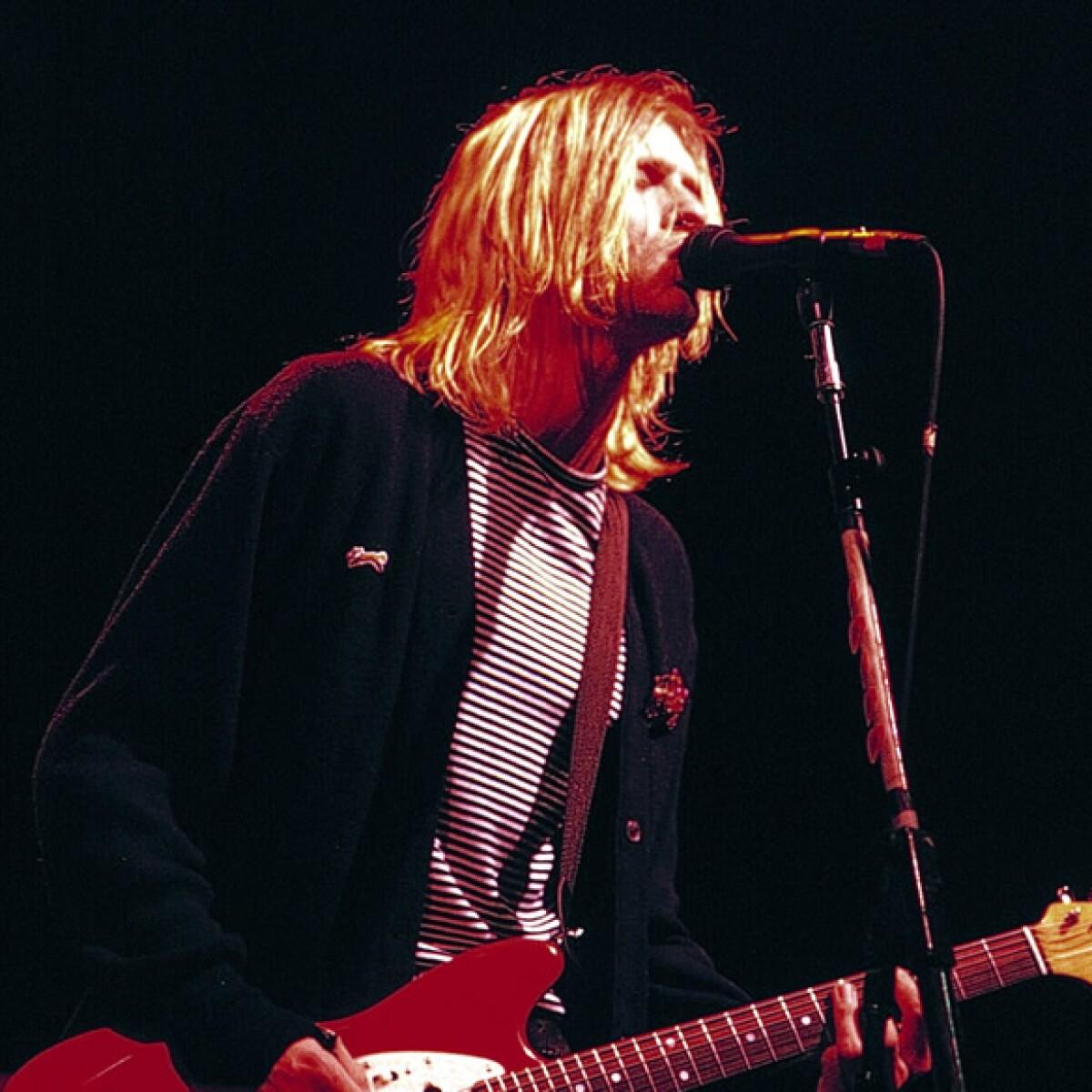 Objetos personales de Kurt Cobain serán exhibidos en Irlanda