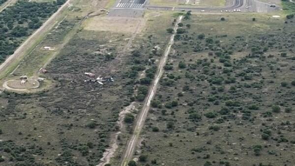 Durango José Rosas Aispuro accidente Aeroméxico