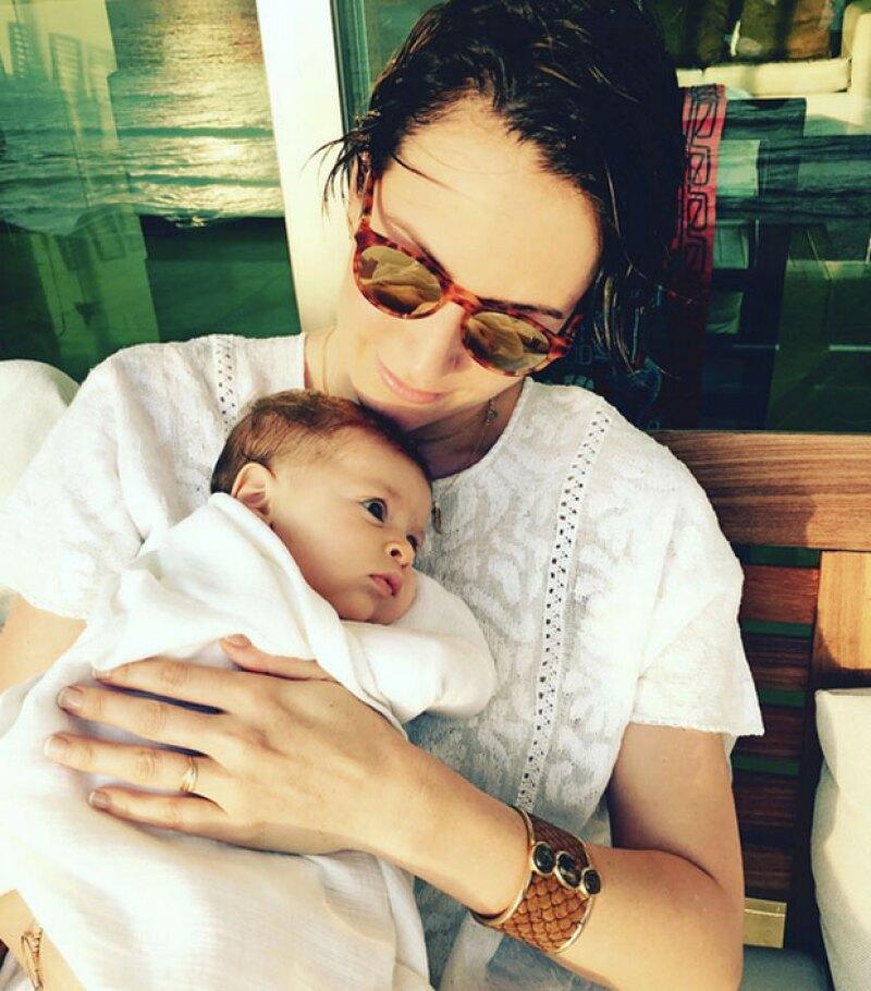 Alondra de la Parra ha compartido las fotos más tiernas con su primer hijo, Luciano.