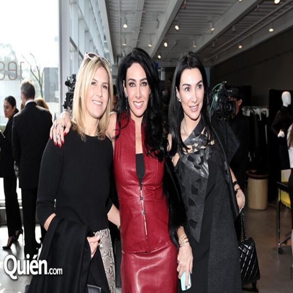 Lulú Creel, María Laura Salinas y Colette Steckel