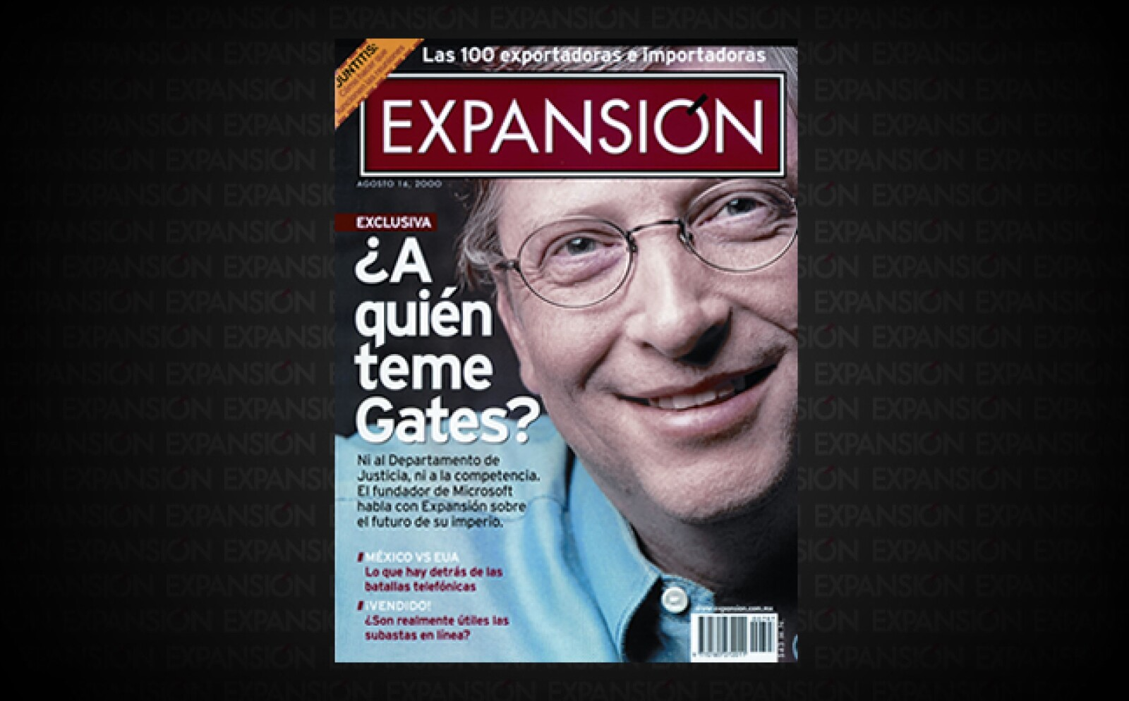 Bill Gates habla en exclusiva con la revista sobre la innovación en Microsoft. En ese momento se encontraba en el ojo del huracán, pues las demandas en su contra por prácticas monopólicas ya habían llegado a tribunales en Estados Unidos.