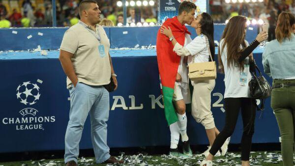 Guardaespaldas de Cristiano Ronaldo