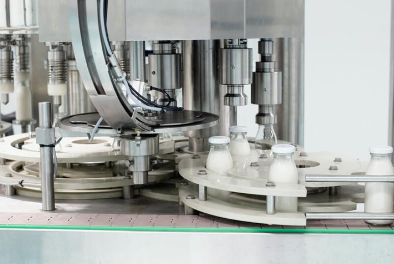 Fábrica productora de leche