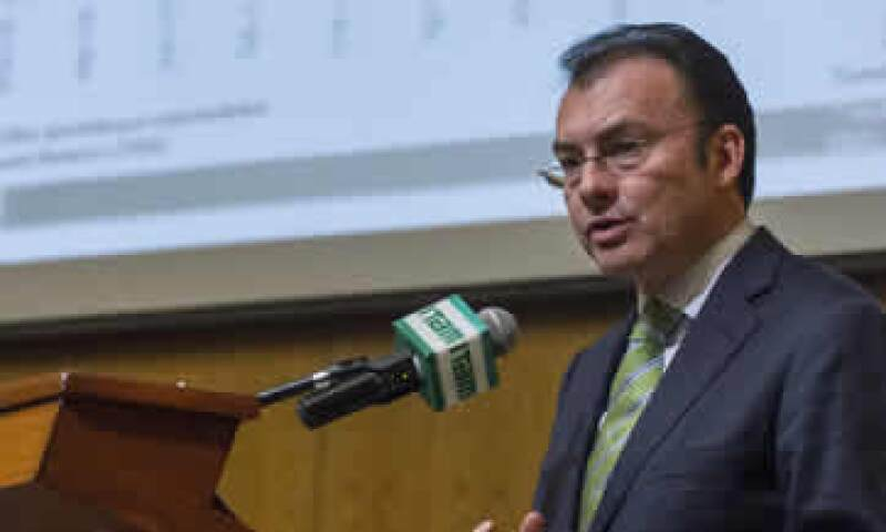 El secretario participó en la reunión anual del Grupo Financiero Banamex. (Foto: Cuartoscuro)