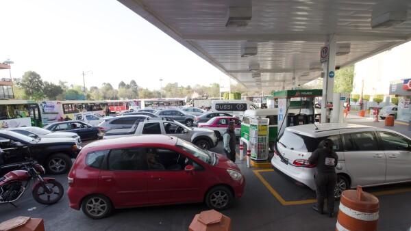 Pemex gasolina CDMX