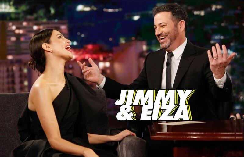 Eiza-Gonzalez-en-Jimmy-Kimmel
