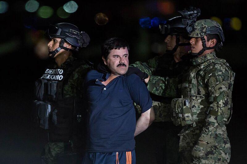 Drug Kingpin Joaquin 'Chapo' Guzman Recaptured in Mexico