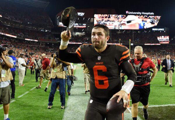 Baker Mayfield Browns quarterback