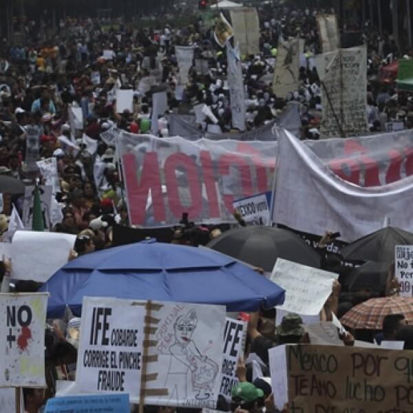 22 de julio, marcha yosoy132