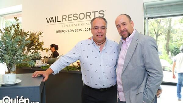 Alejandro Checa y Raúl Sayrols