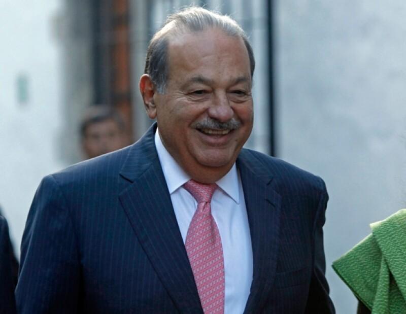 El empresario mexicano se apoderó del lugar 23 junto con su familia.