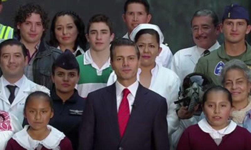 El presidente mexicano dijo en un mensaje de video que México tiene el potencial para salir adelante en los próximos años.(Foto: Youtube/Presidencia)